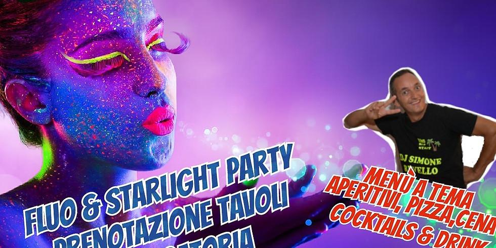 Mercoledì 23 Giugno 2021 EDEN VIVERONE FLUO & STARLIGHT PARTY Musica ed intrattenimento con Dj Simone Revello