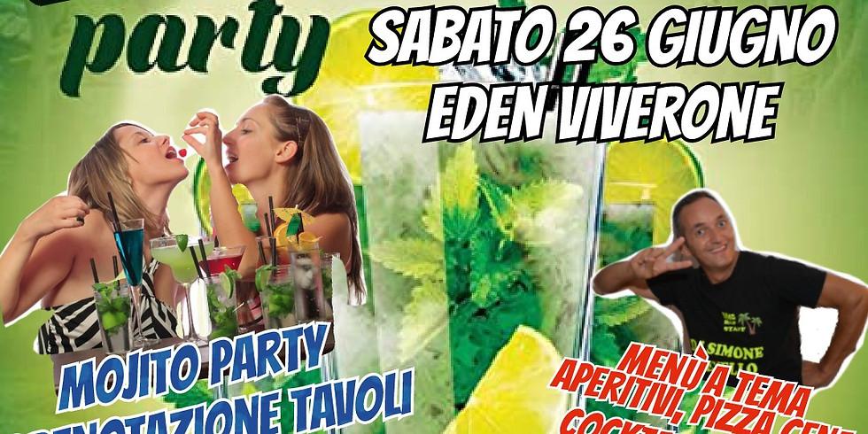 Sabato 26 Giugno 2021 EDEN VIVERONE MOJITO PARTY MUSICA ED INTRATTENIMENTO CON DJ SIMONE REVELLO DI RADIO GRAN PARADISO