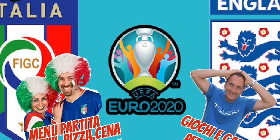 Domenica 11 Luglio 2021 EDEN VIVERONE FINALE ITALIA - INGHILTERRA MENU PARTITA GIOCHI E GADGET PER CHI CENA PRENOTA