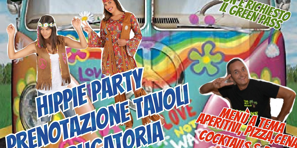 Mercoledì 1 Settembre 2021 EDEN VIVERONE HIPPIE PARTY