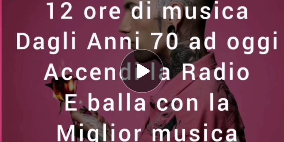 Radio Gran Paradiso  Saturday Night Sabato 23 Gennaio 2021 Voglia di ballare? Accendi la Radio!
