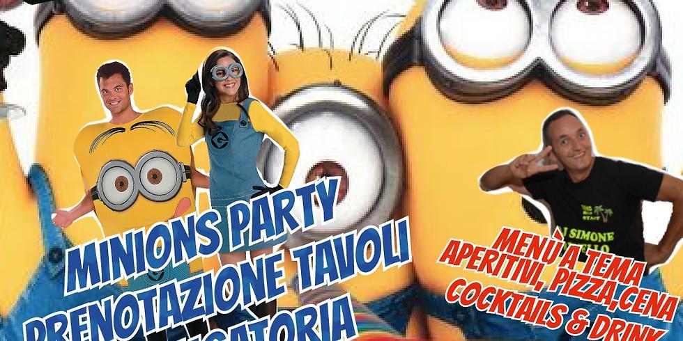 Mercoledì 11 Agosto 2021 EDEN VIVERONE minions party