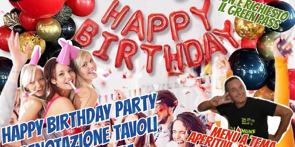 Mercoledì 25 agosto 2021 EDEN VIVERONE Happy Birthday PARTY Vieni a festeggiare il tuo compleanno all'eden..