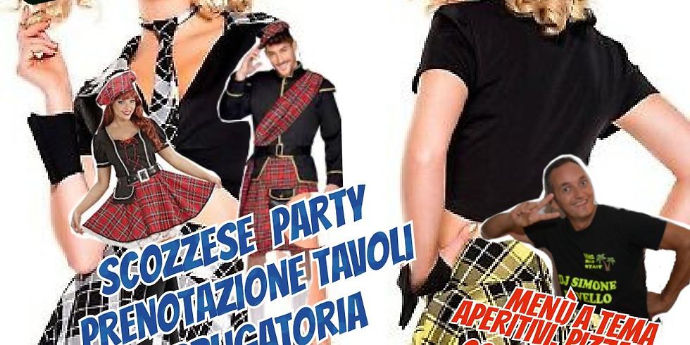 Sabato 7 Agosto 2021 EDEN VIVERONE Scozzese PARTY music Selected by Dj Simone Revello