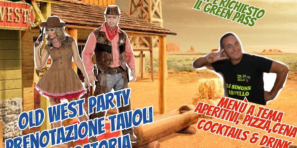 MERCOLEDÌ 18 AGOSTO 2021 EDEN VIVERONE OLD WEST PARTY NON È RICHIESTO IL GREEN PASS