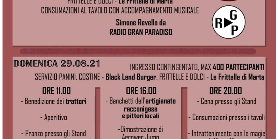 Sabato 28 Agosto 2021 Racconigi Borgo Macra