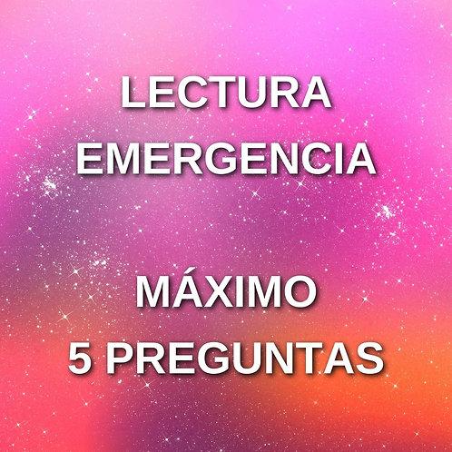 LECTURA EMERGENCIA