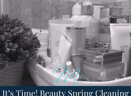 It's Time to Spring Clean Your Beauty Products
