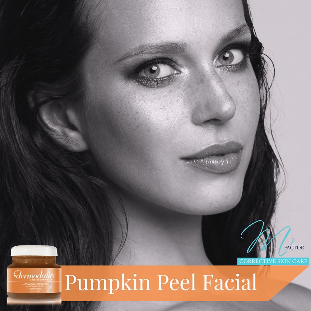 Pumpkin Peel Facial from h2t