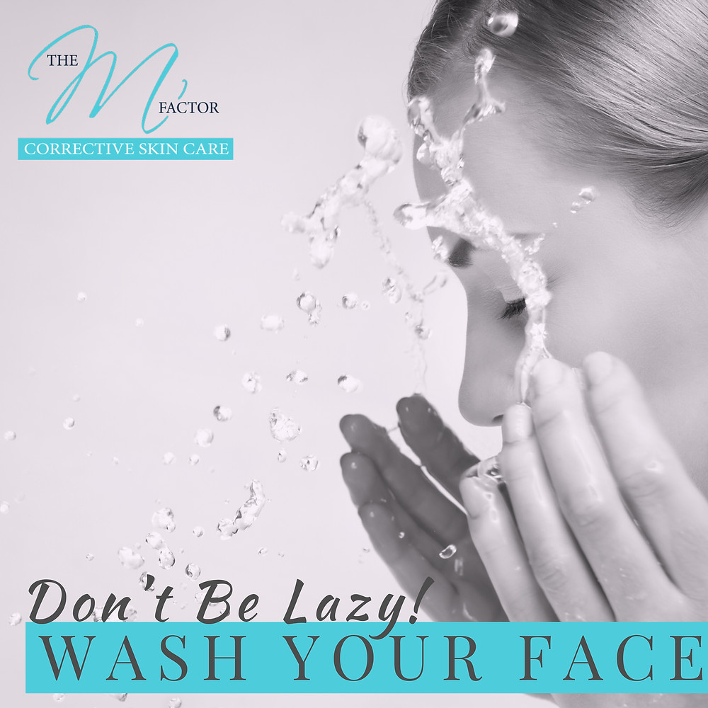Importance of Washing Your Face