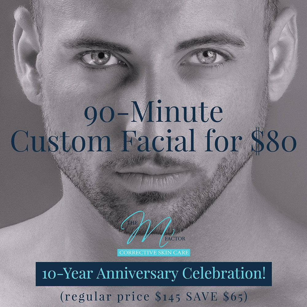 $80 90 Minute Custom Facial Special
