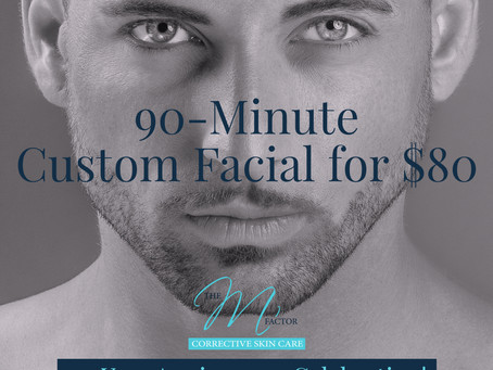 90-Minute Custom Facial Only $80
