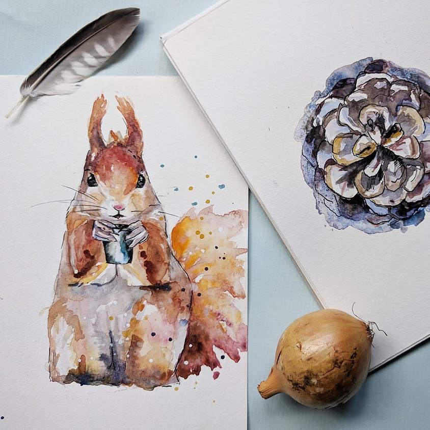 Workshop aquarel: Pleck Delft