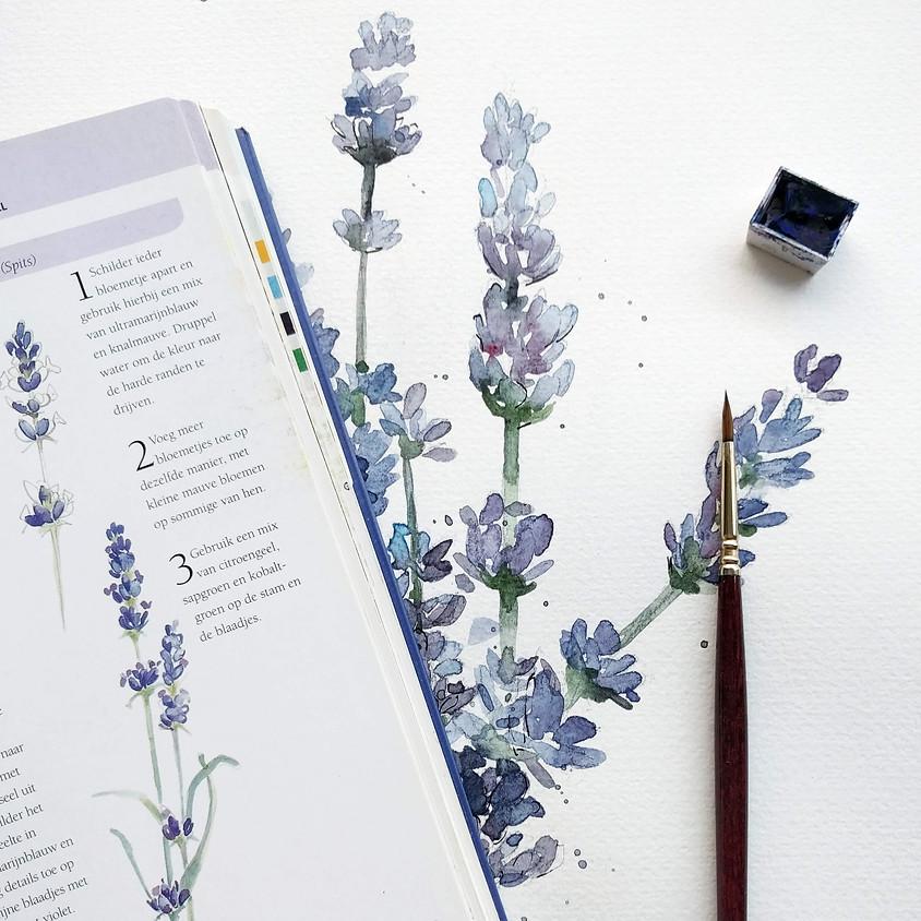 Watercolor Workshop: Bloemen | Voorlopig Rotterdam