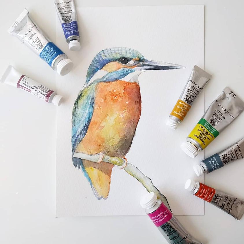 Aquarel workshop: vogels