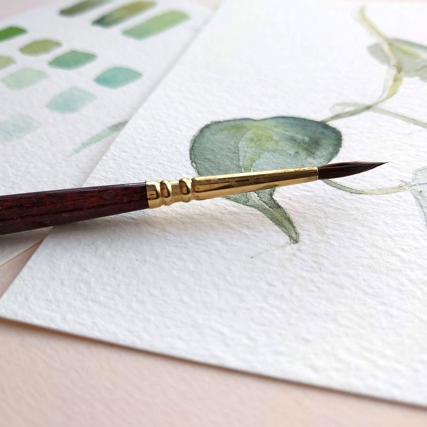 Watercolor Workshop | Planten