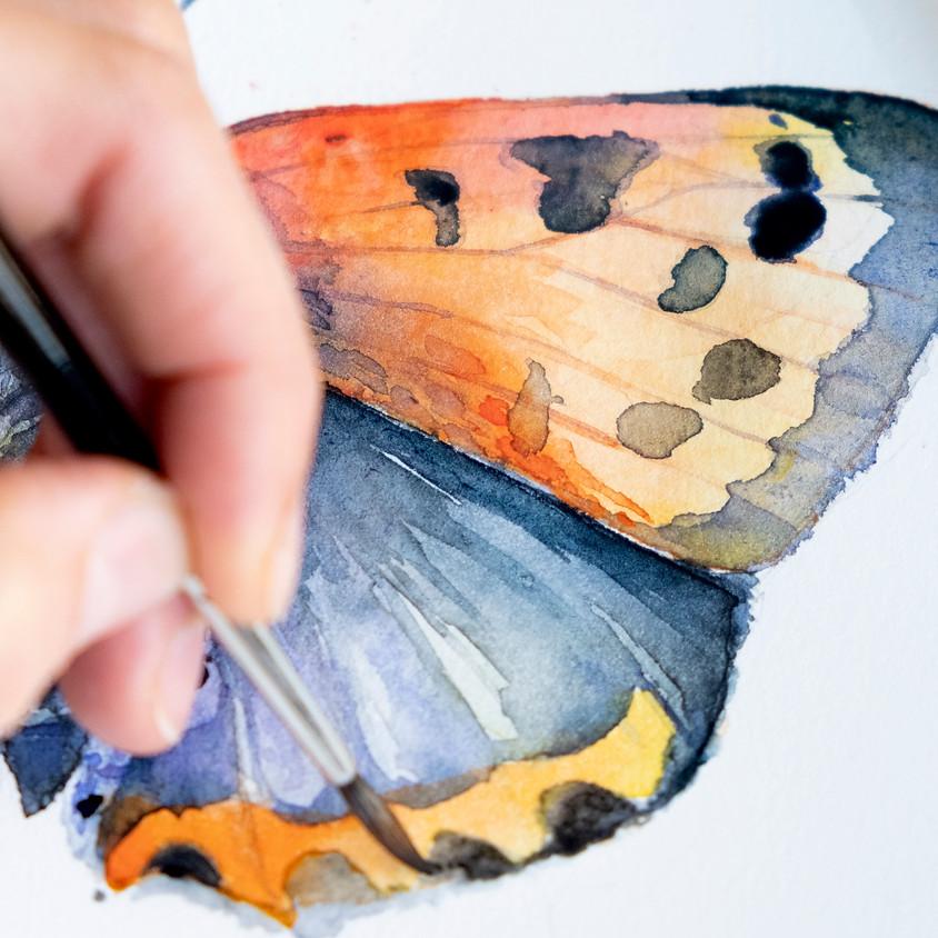 Aquarel workshop: Vlinder | Delft