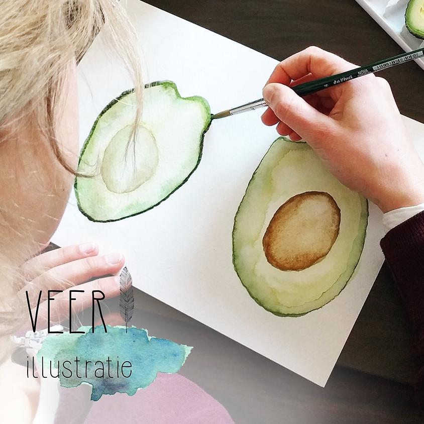Workshop aquarel: Amsterdam