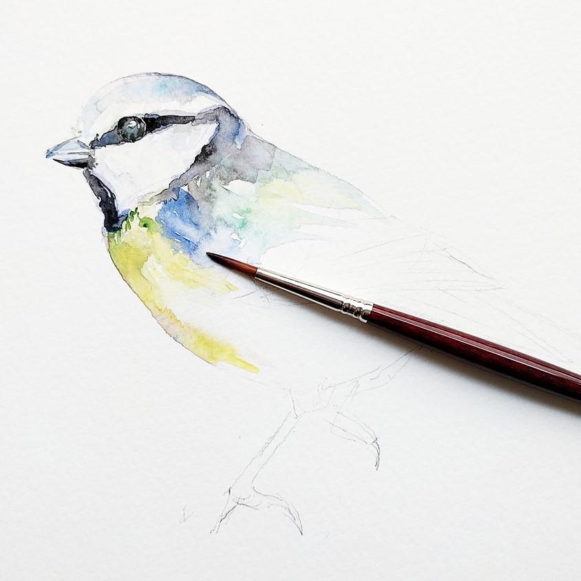 Watercolour workshop: Birds @ Haarlem