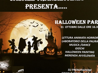 Save the date!!!halloween party CASALE TRANSILVANIA