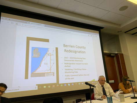 EGLE Announces Plans for Redesignation of Berrien County to Ozone Attainment