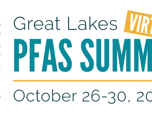 Great Lakes PFAS Summit 2020 - Virtual