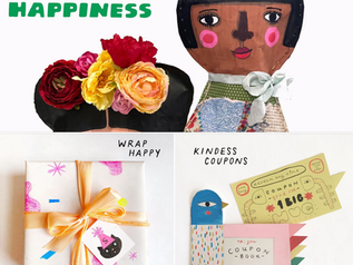 Gifting Handmade Happiness With My Friends!