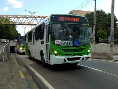 Devido decreto, circulação de ônibus coletivos é reduzida em Manaus