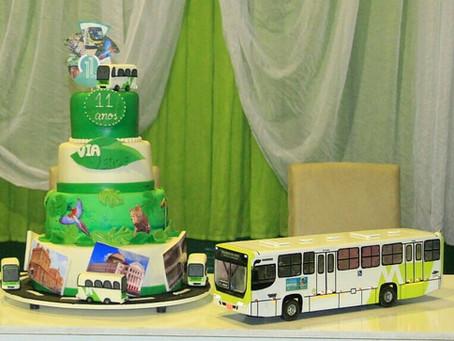 Via Verde completa 11 anos atuando no transporte coletivo de Manaus