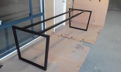 Powder coating - Oxytec Satin black - Custom table