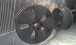 Powder coat - Matt Black - HSV Wheels