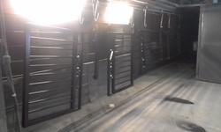 Powder coating - Oxytec satin black - gate items (2)