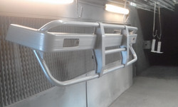 Powder coating - Oxytech silver pearl - Bull bar