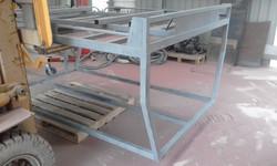 Abrasive blasting - ute tray (2)