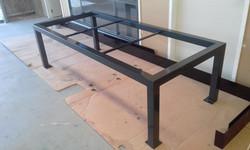 Powder coating - Charcole gloss - Custom table