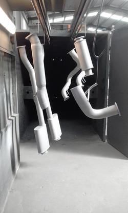Abrasive blasting - XE ESP duel 3inch system