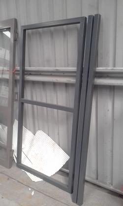 Powder coating - Iron stone - gate frames