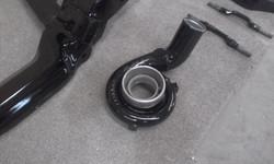 Powder coating - Jet black gloss - VE Maloo Turbo set up (5)