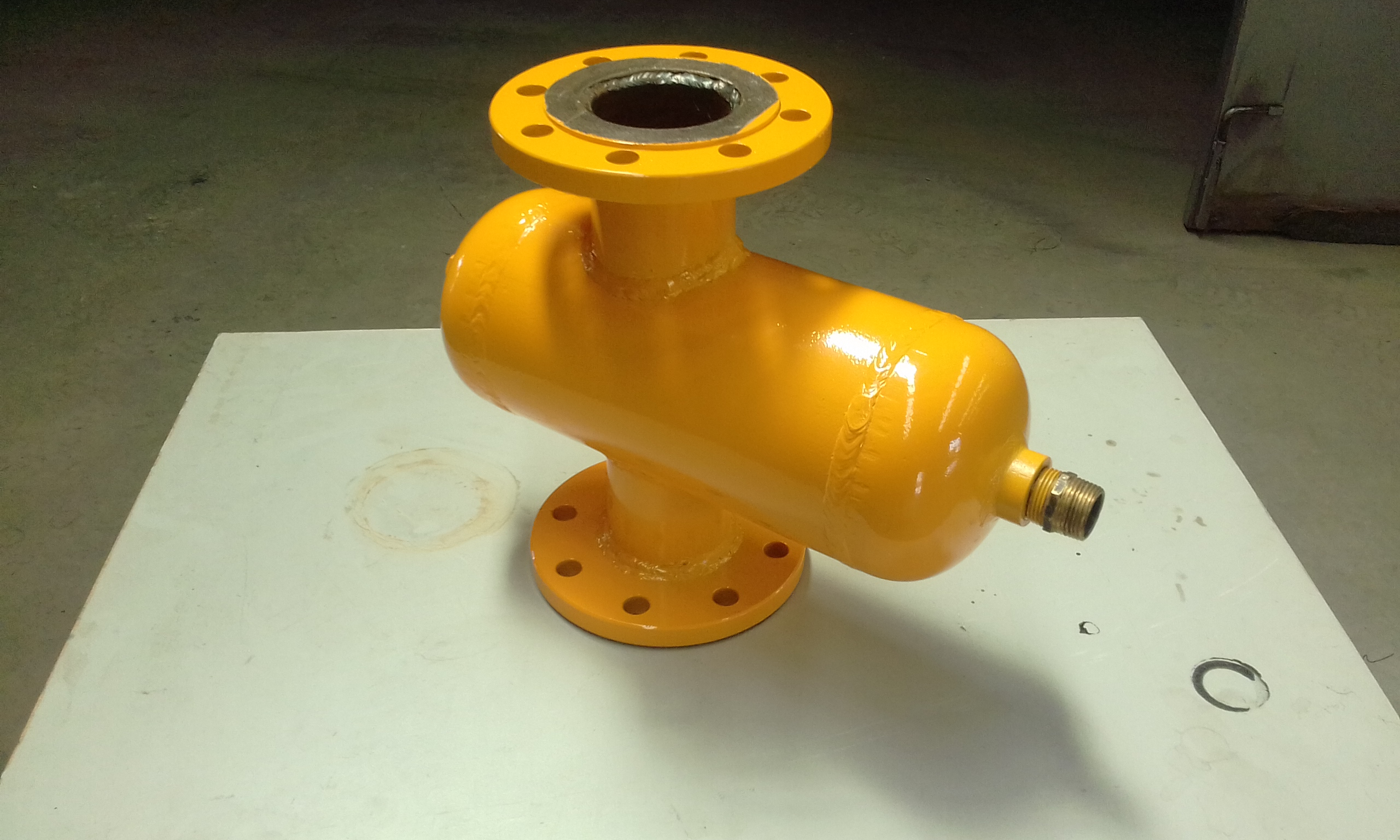 Powder coat - safty yellow - Pump
