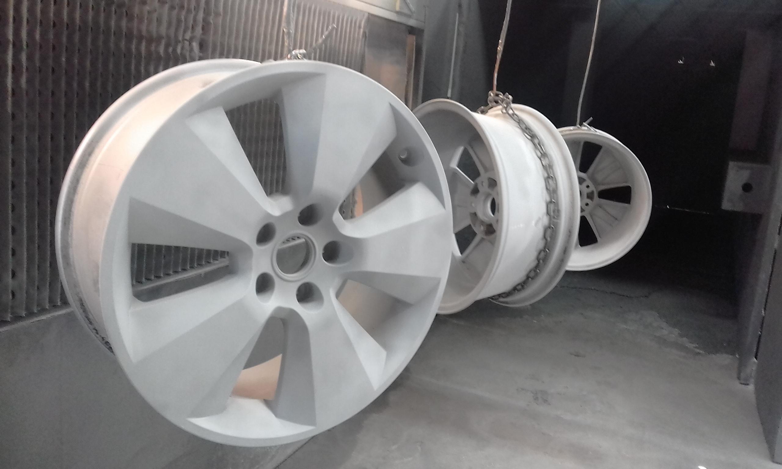 Abrasive Blast - Garnet - HSV Wheels