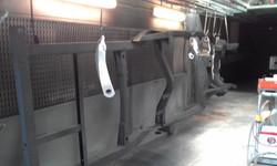 Powder coat - Oxytec Satin black - Holden HQ Chassis 1