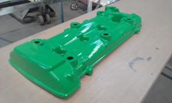 Powder coating - oxytec Mint green gloss - hyabusa 1300