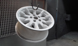 Abrasive blast - Garnet - HSV Senator wheels