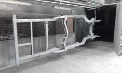 Abrasive blast - Garnet - Holden HQ Chassis