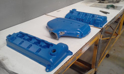 Powder coating - Frence Blue - Ford BOSS 260 covers