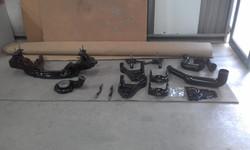 Powder coating - Jett black gloss - torana front end (2)