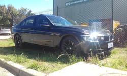 Powder coating - Oxytec satin black - BMW 18 wheels (2)
