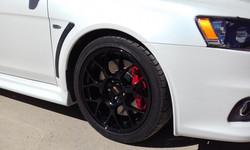Powdercoat - Oxytec Jet black - BBS wheels 6