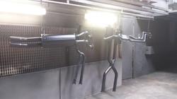 Powder coat - Oxytec Muffler black - XR6T SYSTEM 2