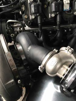 Ceramic Coating Cerakote Glacier Black C-7600 VZ Senator Turbo set up  5